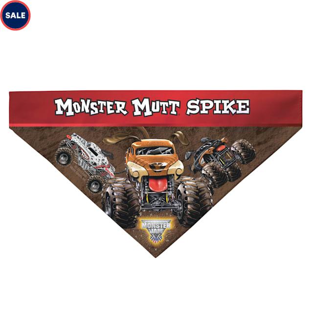 Custom Personalization Solutions Monster Jam Monster Mutt Pet Bandana Collar Cover - Carousel image #1