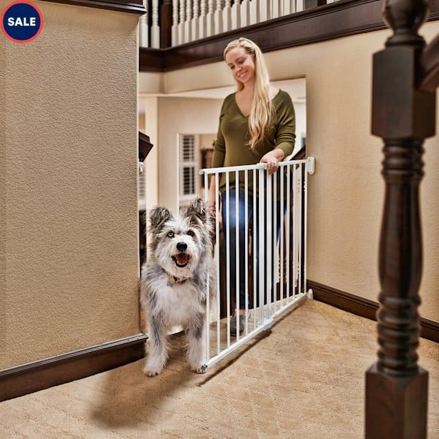 """You & Me Stairway Walk-Thru Pet Gate, 24""""-40.5"""" W x 28.5"""" H - Carousel image #1"""