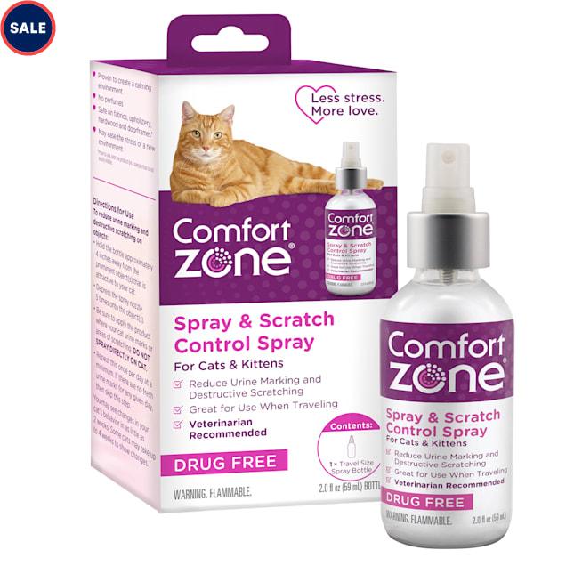Comfort Zone Spray & Scratch Control Spray for Cat, 2 fl. oz. - Carousel image #1