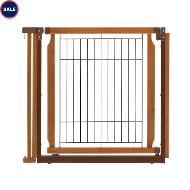 "Richell Convertible Elite Autumn Matte Pet Door Panel, 33.9"" x 31.5"" x 1.4"" - Carousel image #1"