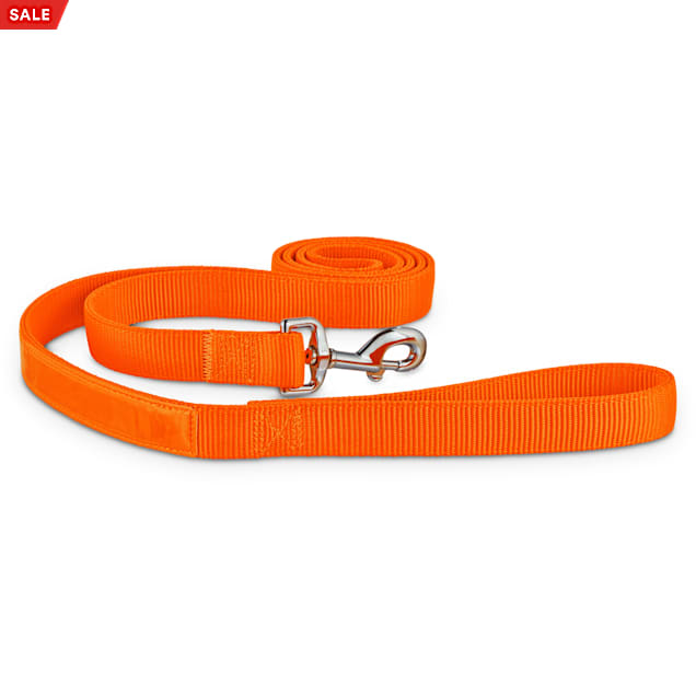 Good2Go Bright Orange Reflective Dog Leash, 6 ft. - Carousel image #1