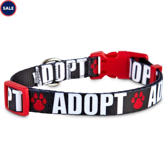 Good2Go Adopt Love Dog Collar, Large - Carousel image #1