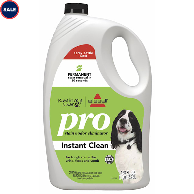 Bissell Pawsitively Clean Pro Pet Stain & Odor Eliminator Instant Clean Refill, 128 fl. oz. - Carousel image #1
