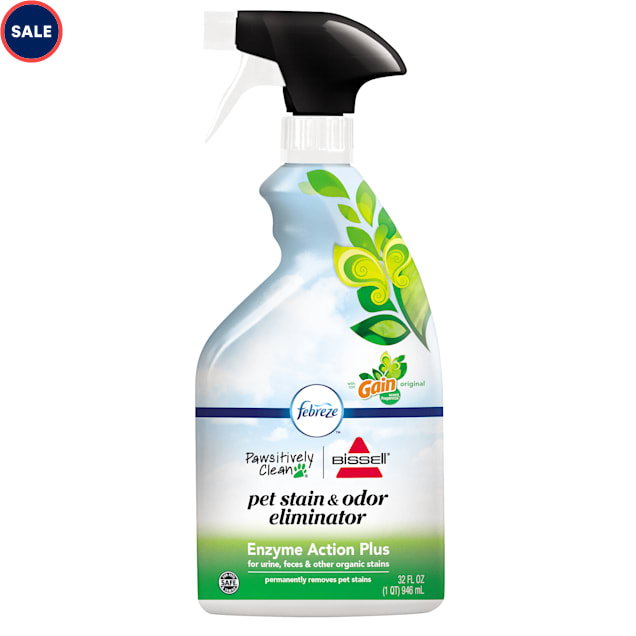 Bissell Pawsitively Clean with Gain & Febreze Pet Stain & Odor Eliminator, 32 fl. oz. - Carousel image #1