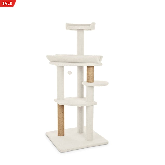 "You & Me Feline High-Rise 4-Level Cat Tree, 56"" H - Carousel image #1"