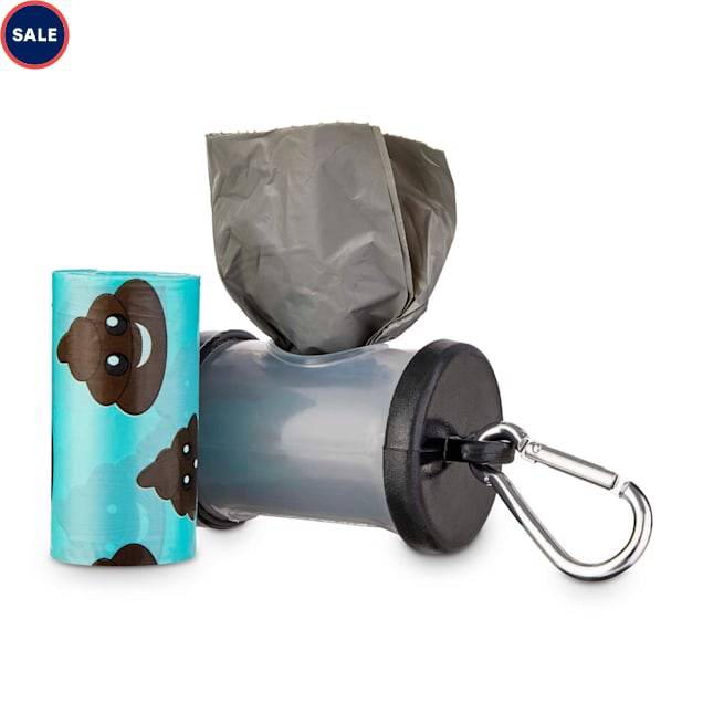 So Phresh Black and Clear Dog Waste Bag Dispenser with Refills, Count of 30 - Carousel image #1
