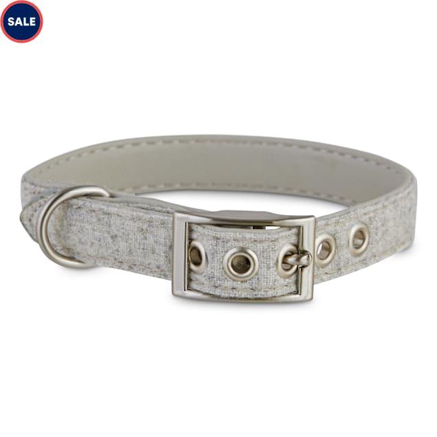 Bond & Co. Stone-Gray Dog Collar, X-Small/Small - Carousel image #1