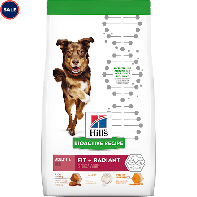 Hill's Bioactive Recipe Fit + Radiant Chicken & Barley Adult Dry Dog Food, 21.5 lbs. - Carousel image #1