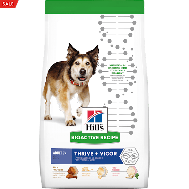 Hill's Bioactive Recipe Thrive + Vigor Chicken & Brown Rice Adult Dry Dog Food, 21.5 lbs. - Carousel image #1