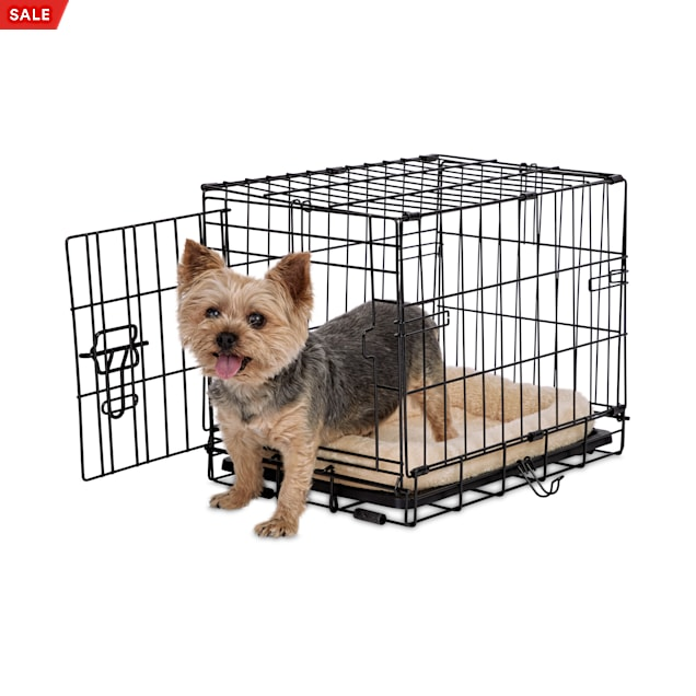 "Animaze 1-Door Folding Dog Crate, 18.5"" L x 12.5"" W x 14.5"" H - Carousel image #1"