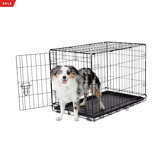"Animaze 1-Door Folding Dog Crate, 30.5"" L x 19.2"" W x 21.5"" H - Carousel image #1"