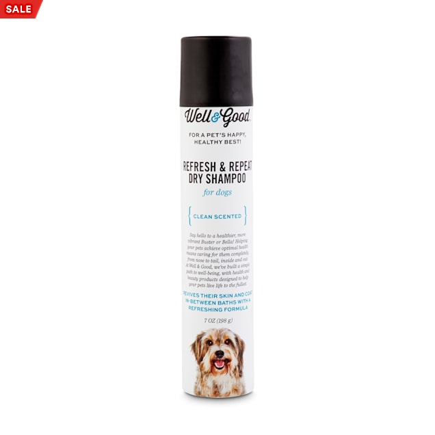 Well & Good Refresh & Repeat Dry Shampoo for Dogs, 7 fl. oz. - Carousel image #1