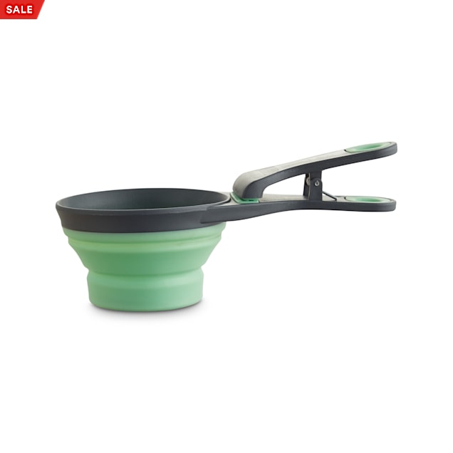 Harmony Mint 3-in-1 Food Scooper for Dogs, 1 Cup - Carousel image #1