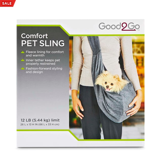 "Good2Go Comfort Pet Sling, 26"" L X 13"" H - Carousel image #1"