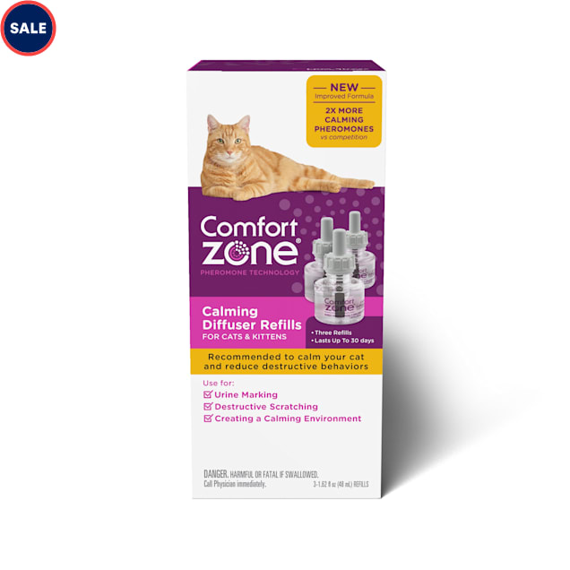 Comfort Zone Calming Refill for Cat, Pack of 3 - Carousel image #1