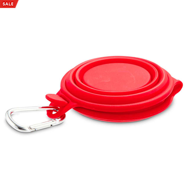 Good2Go Collapsible Dog Bowl Duo Diner in Assorted Colors, 1 Cup - Carousel image #1