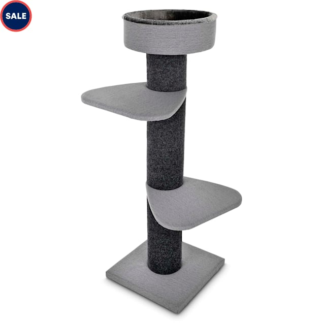 """You & Me Rooftop Vista 3-Level Cat Tree, 55.5"""" H - Carousel image #1"""