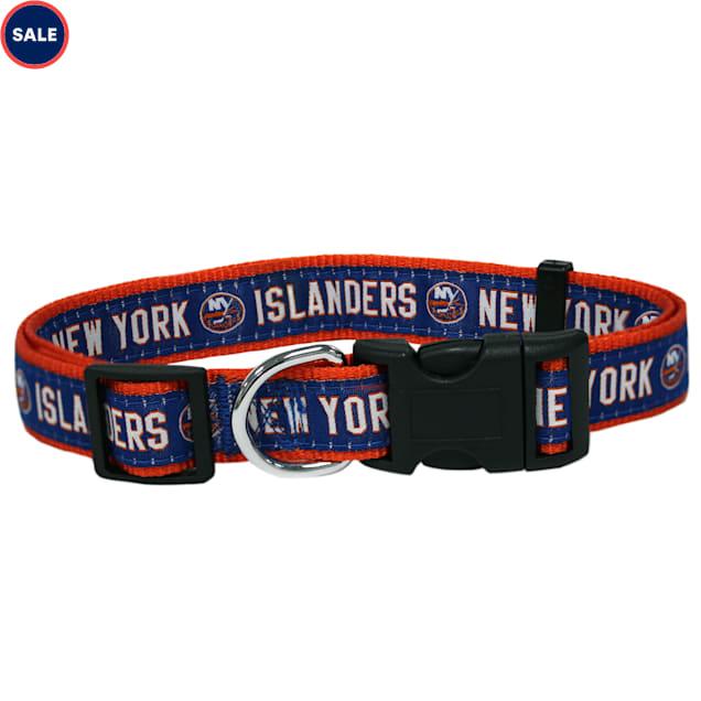 Pets First New York Islanders Dog Collar, Small - Carousel image #1
