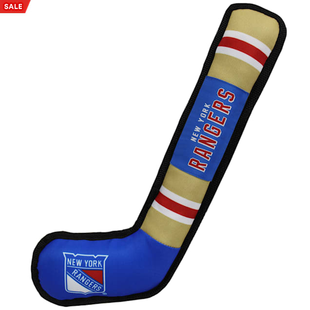 Pets First New York Rangers Hockey Stick Toy for Dogs, X-Large - Carousel image #1