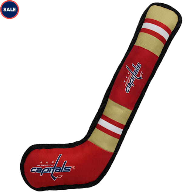 Pets First Washington Capitals Hockey Stick Toy for Dogs, X-Large - Carousel image #1