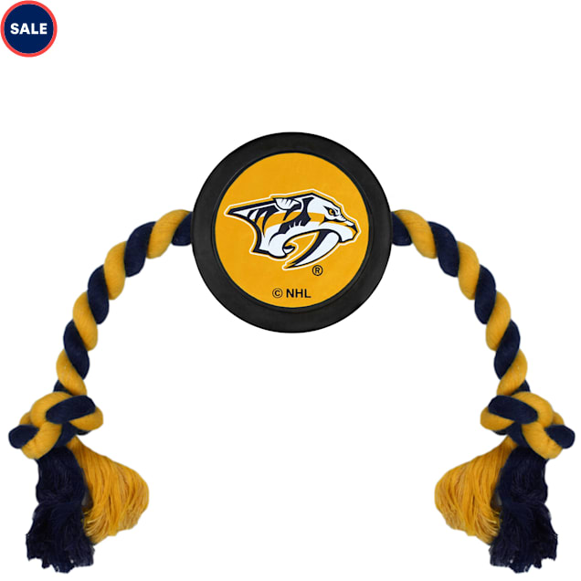 Pets First Nashville Predators Hockey Puck Toy for Dogs, Large - Carousel image #1