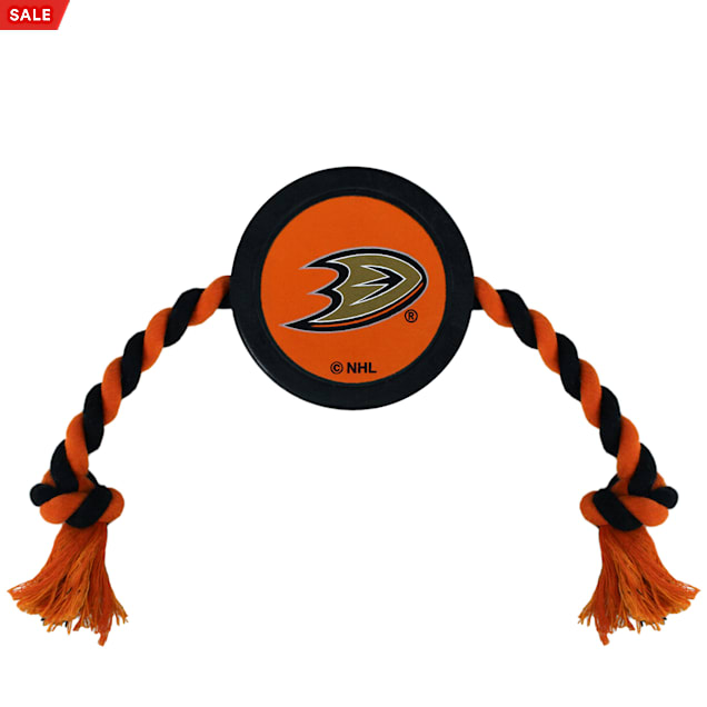 Pets First Anaheim Ducks Hockey Puck Toy for Dogs, Large - Carousel image #1