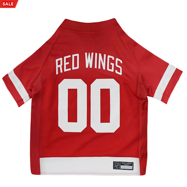 Pets First Detroit Red Wings Dog Jersey, X-Large - Carousel image #1