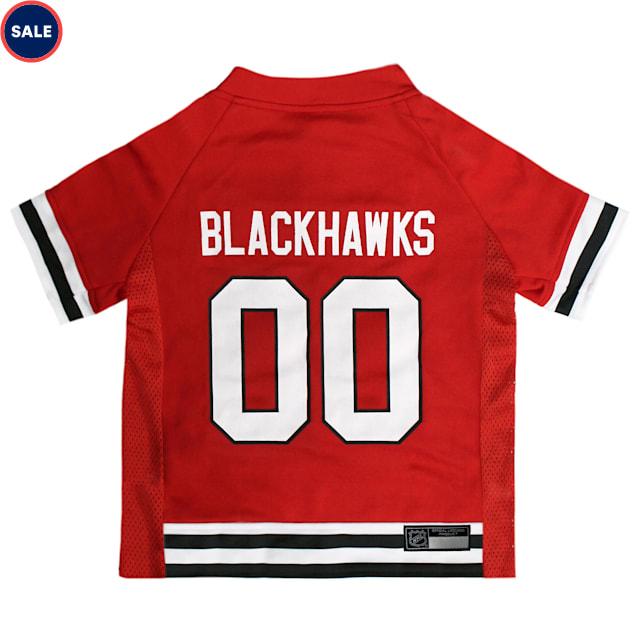 Pets First Chicago Blackhawks Dog Jersey, X-Large - Carousel image #1