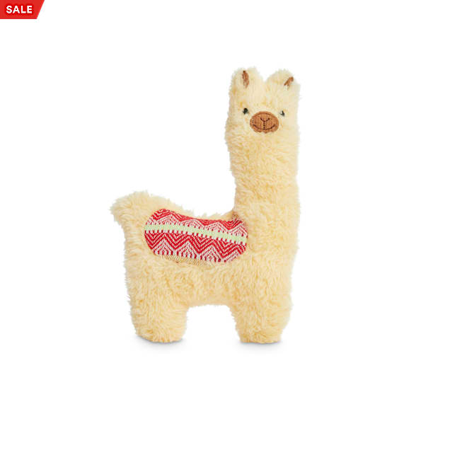 Petco 2 for 5 Toys Alpaca the Fun Llama Plush Dog Toy in Various Styles, Small - Carousel image #1