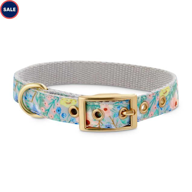 Bond & Co. Watercolor Garden Dog Collar, Small - Carousel image #1