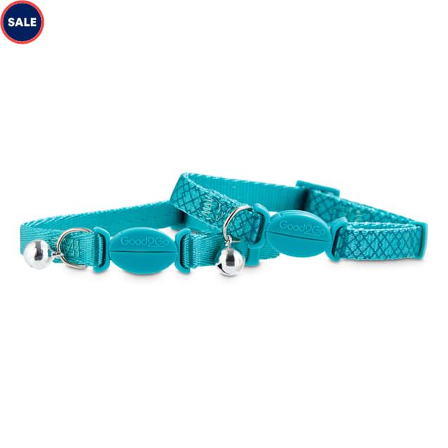 Good2Go Turquoise Breakaway Cat Collars, Pack of 2 - Carousel image #1
