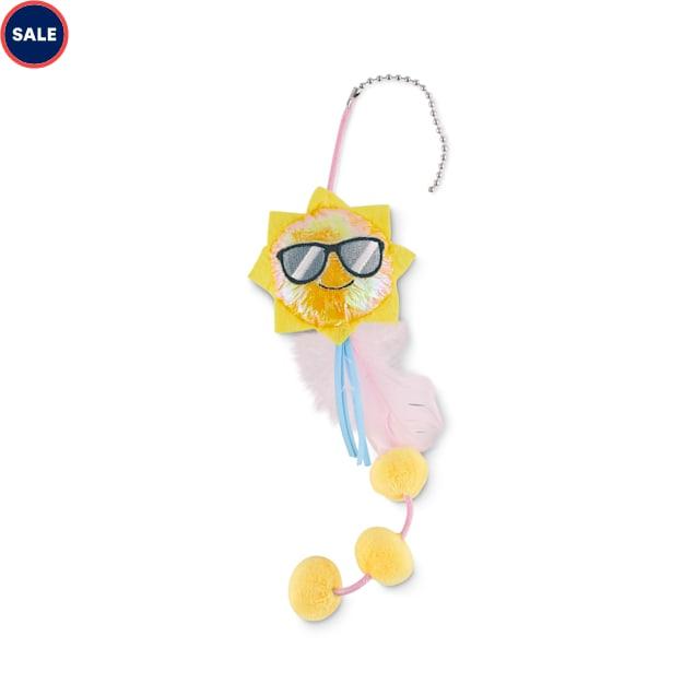 Leaps & Bounds Little Thrills Sun Teaser Refill Kitten Toy - Carousel image #1