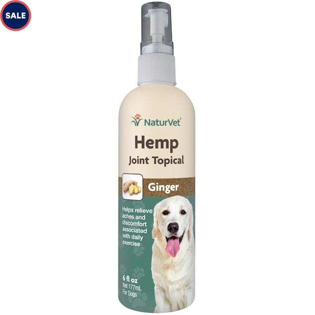 NaturVet Hemp Joint Topical Spray for Dogs, 6 fl. oz. - Carousel image #1