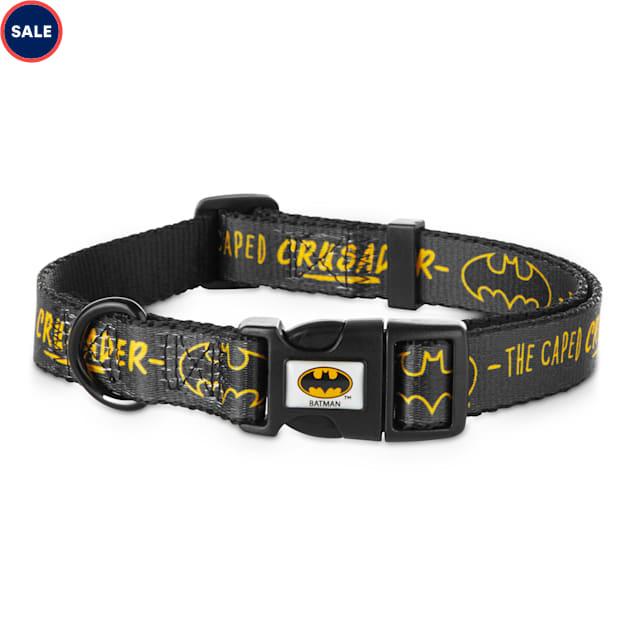 DC Comics Justice League Batman Dog Collar, Small - Carousel image #1