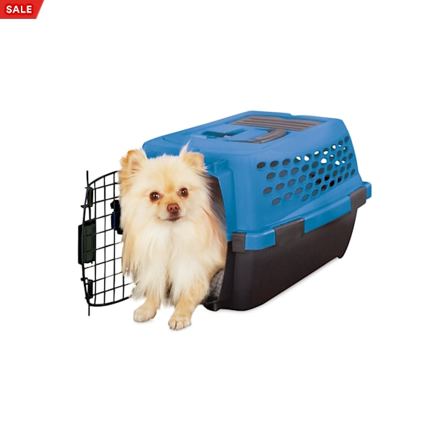 """You & Me Relaxing Refuge Teal Dog Kennel, 20"""" H - Carousel image #1"""
