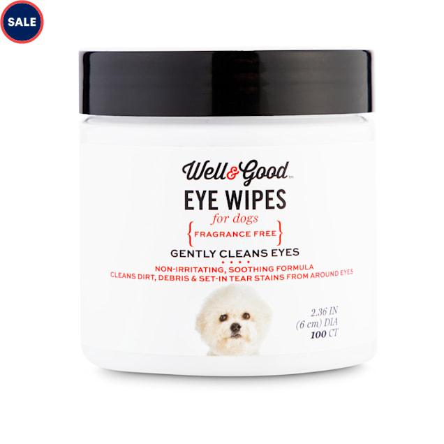 Well & Good Dog Eye Wipes, Pack of 100 - Carousel image #1