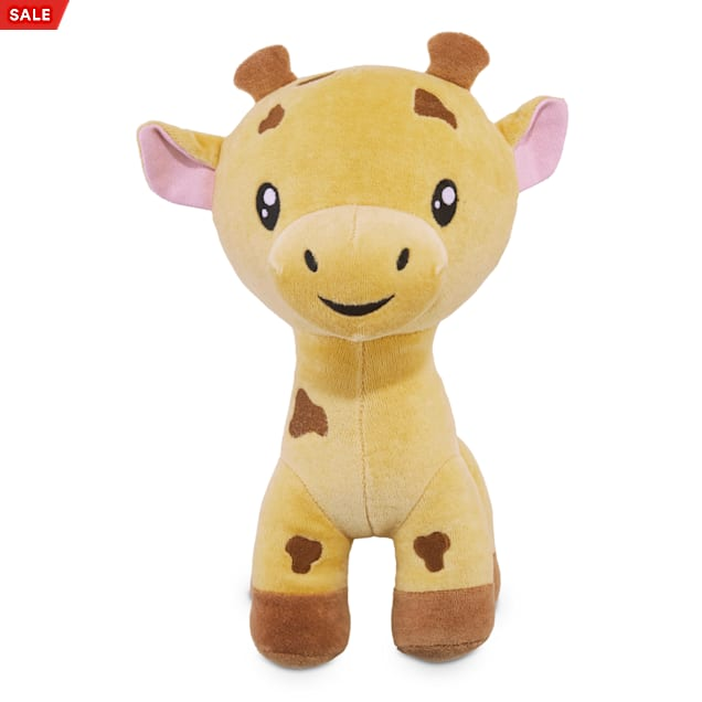 Leaps & Bounds Playful by Nature Cotton Giraffe Plush Dog Toy, Large - Carousel image #1