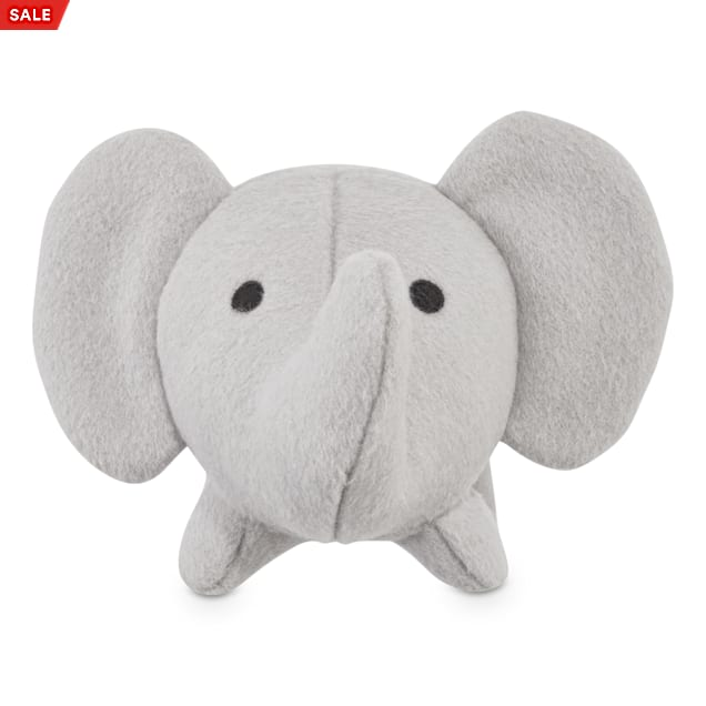Leaps & Bounds Playful by Nature Play Wool Elephant Dog Toy, Small - Carousel image #1