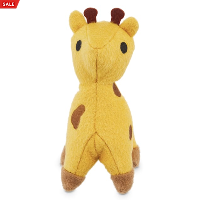 Leaps & Bounds Playful by Nature Play Plush Wool Giraffe Dog Toy, Small - Carousel image #1