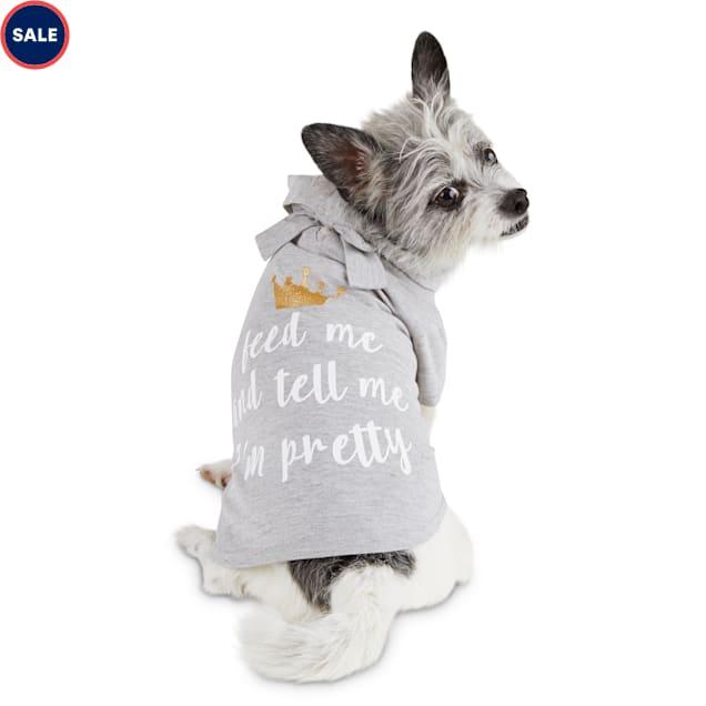 Bond & Co. Pretty Princess Dog T-Shirt, XX-Small - Carousel image #1