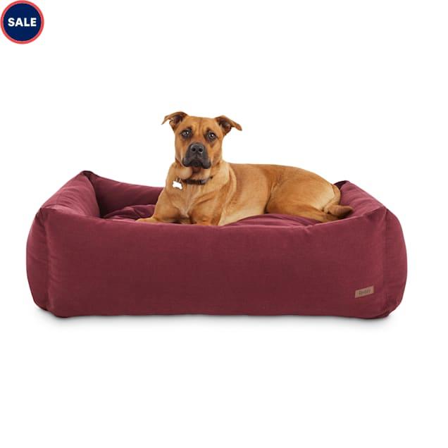 "Reddy Elite Orthopedic Burgundy Dog Bed, 40"" L X 30"" W - Carousel image #1"