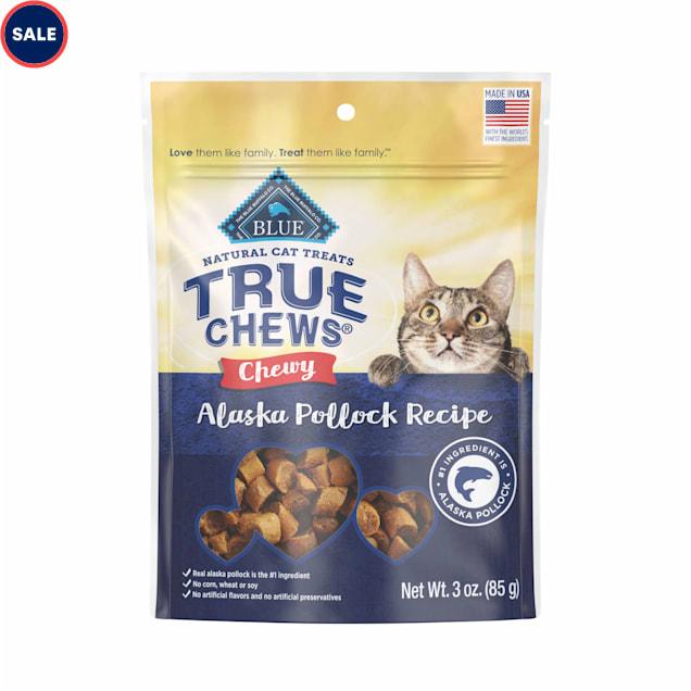 True Chews Chewy Alaska Pollock Recipe Cat Treat, 3 oz. - Carousel image #1