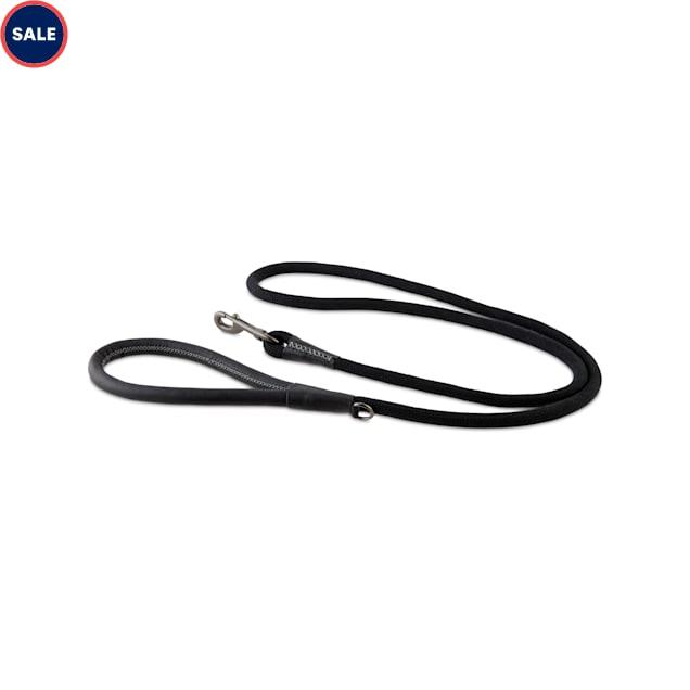 Reddy Black Rope Dog Leash, 6 ft. - Carousel image #1