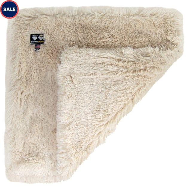 "Bessie and Barnie Ultra Plush Blondie Luxury Shag Pet Blanket, 24"" L X 24"" W X 1"" H - Carousel image #1"