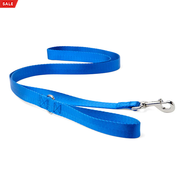 "Good2Go Blue Nylon Dog Leash, 1"" Width, 6 ft. - Carousel image #1"