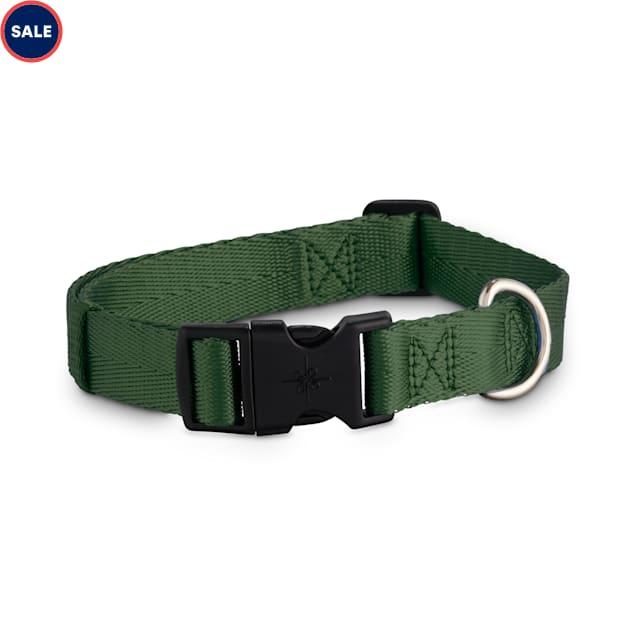 Good2Go Adjustable Dark Green Dog Collar, Large/X-Large - Carousel image #1