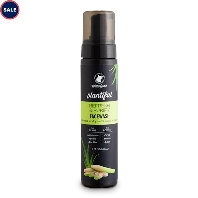 Well & Good Plantiful Refresh & Purify Lemongrass Dog Facewash, 9 fl. oz. - Carousel image #1