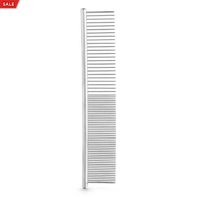 Well & Good Prostyle Dual-Row Flea Metal Comb for Dogs - Carousel image #1