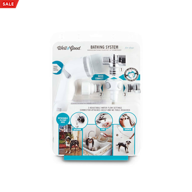 Well & Good 3-Way Shower Sprayer for Dogs - Carousel image #1