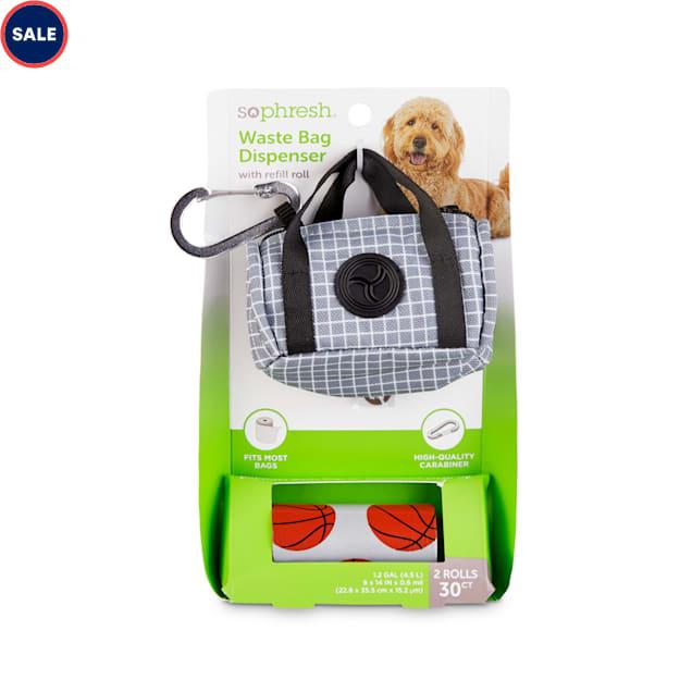 So Phresh Gym Bag Dog Waste Bag Dispenser & Refill Rolls - Carousel image #1